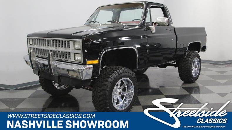 For Sale: 1982 Chevrolet K-10