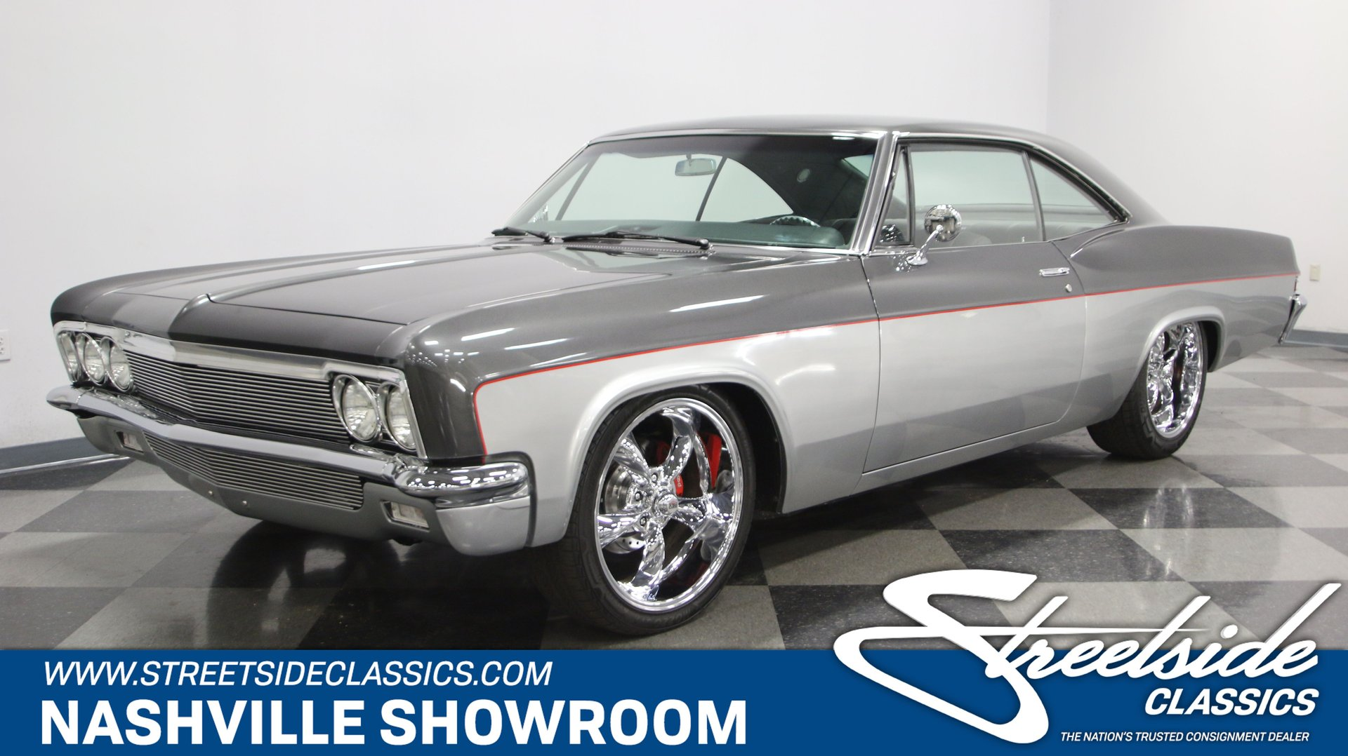 1966 chevrolet impala restomod