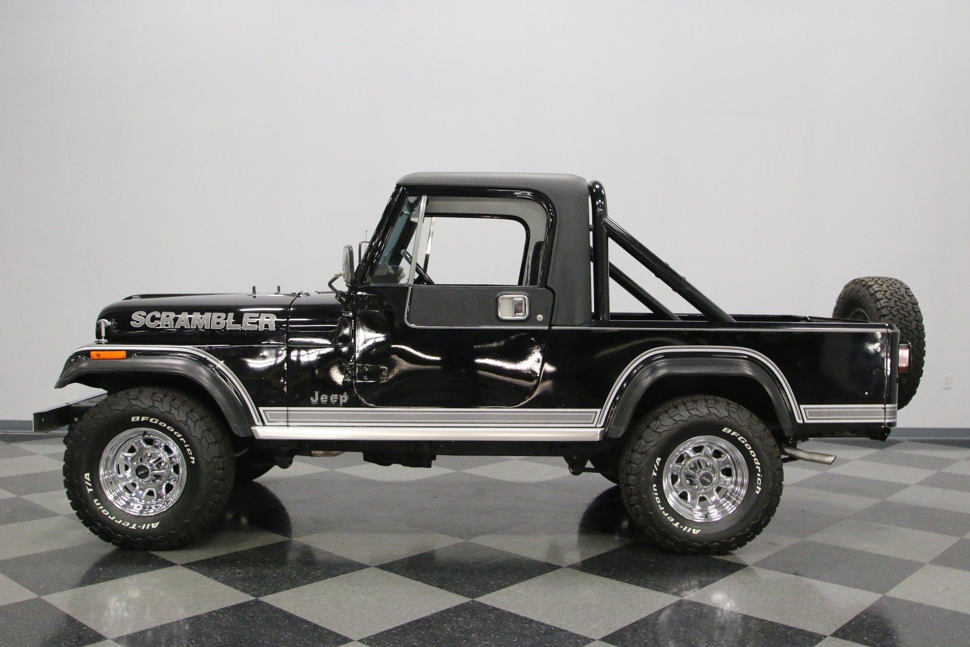 1982 jeep cj8 scrambler laredo