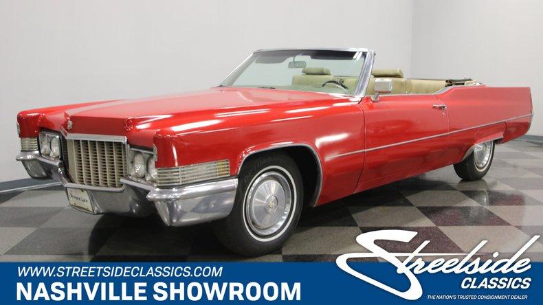 For Sale: 1970 Cadillac DeVille