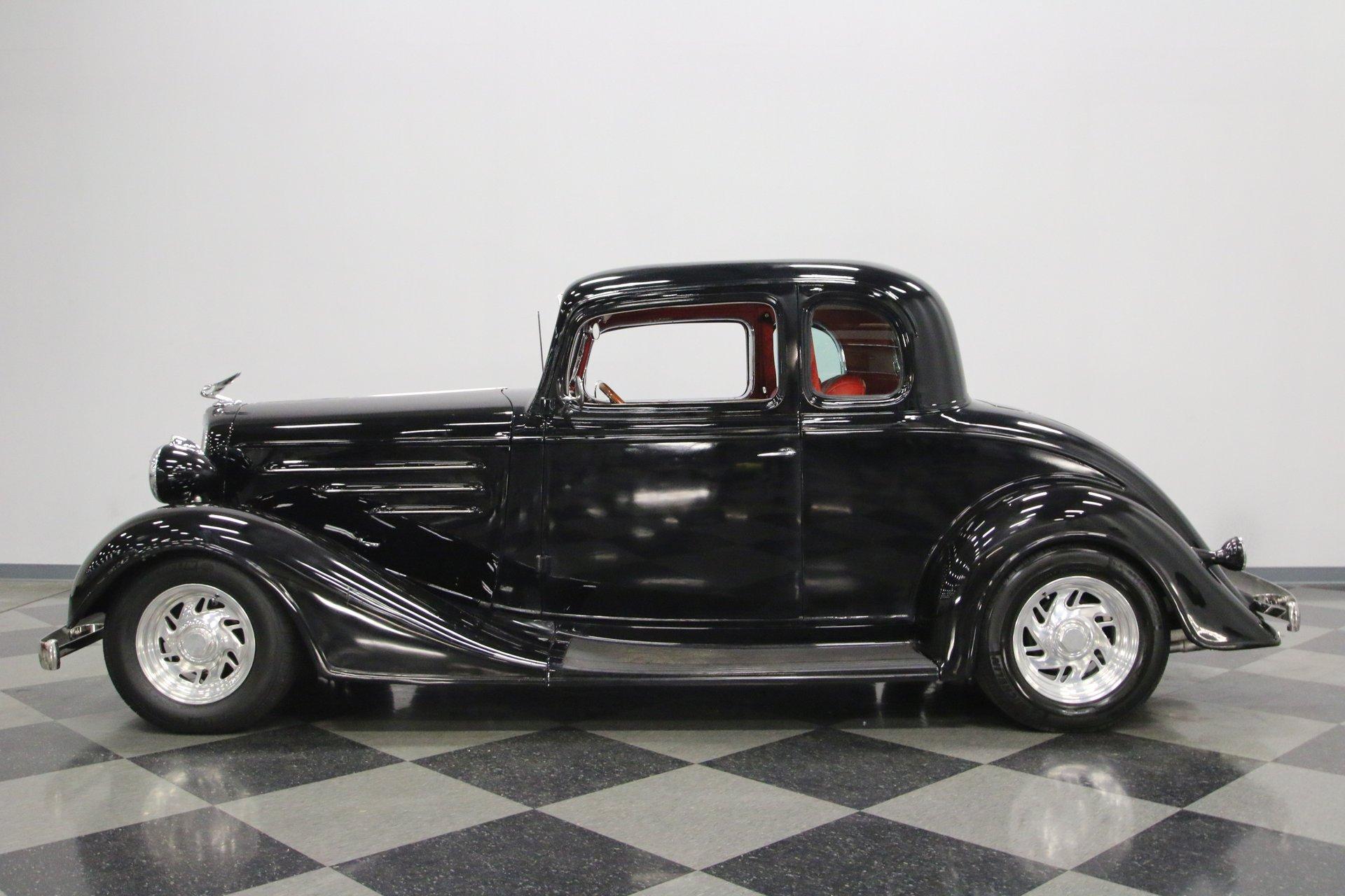 1934 chevrolet 5 window coupe