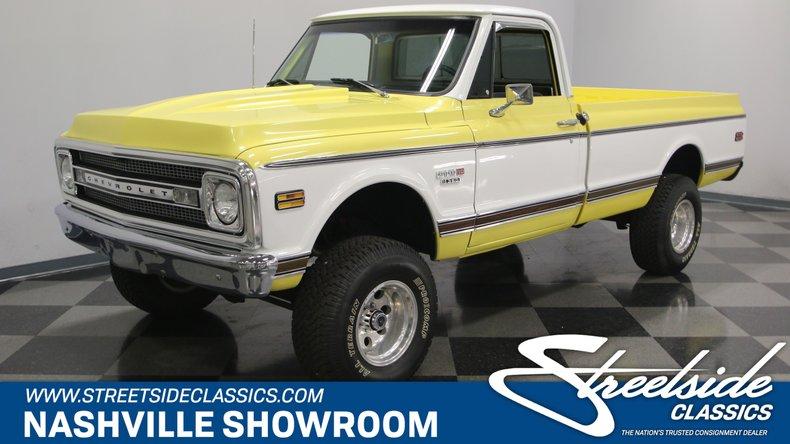 For Sale: 1970 Chevrolet K-10