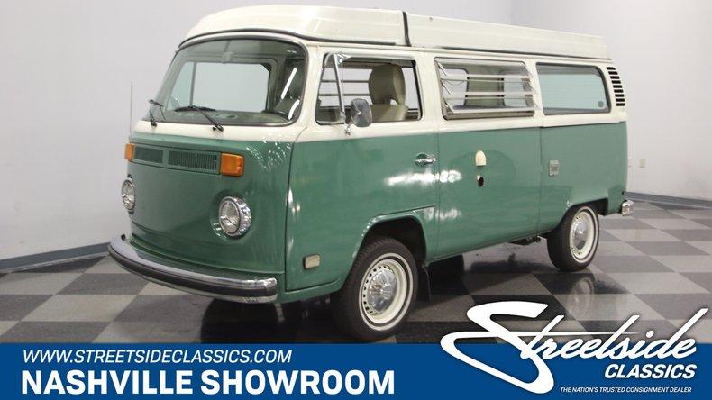 For Sale: 1978 Volkswagen Westfalia Camper
