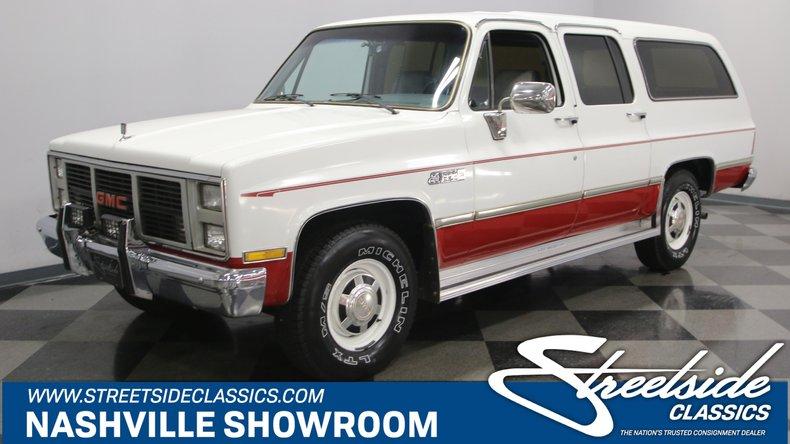 For Sale: 1985 GMC Suburban