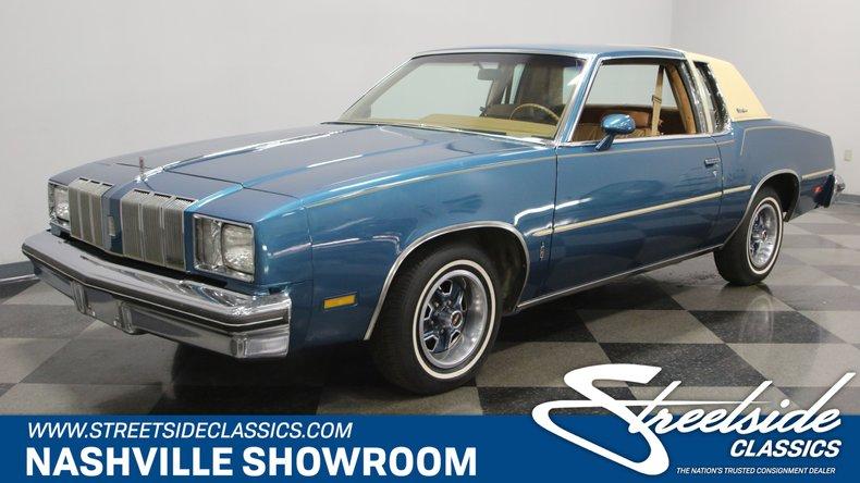 For Sale: 1978 Oldsmobile Cutlass
