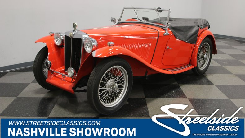 For Sale: 1947 MG TC