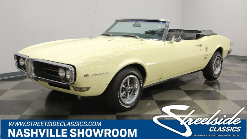 1968 Pontiac Firebird | Streetside Classics - The Nation's Trusted