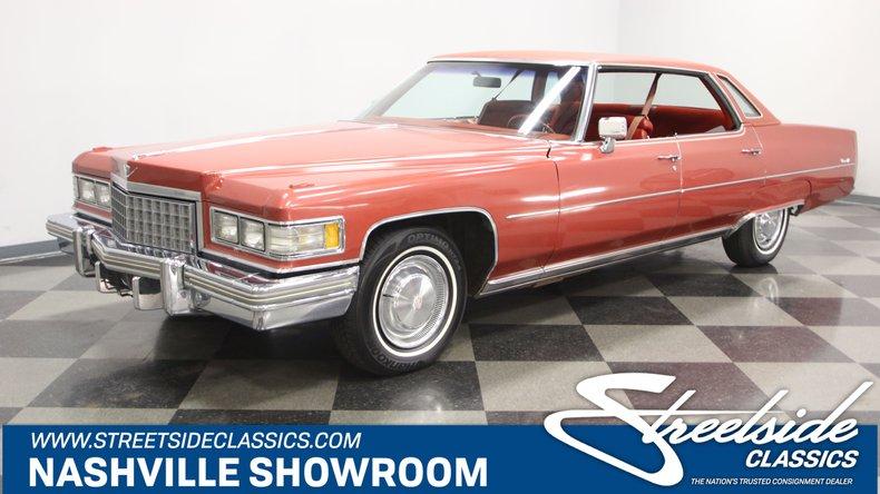 For Sale: 1976 Cadillac DeVille