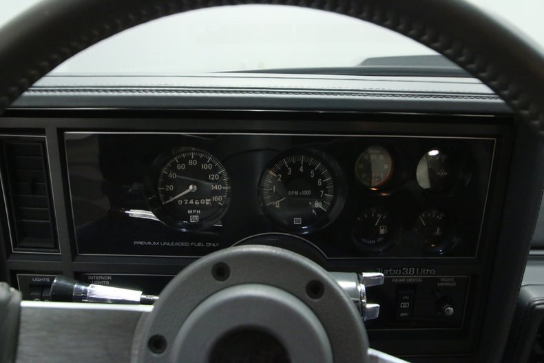 1987 Buick GNX 43