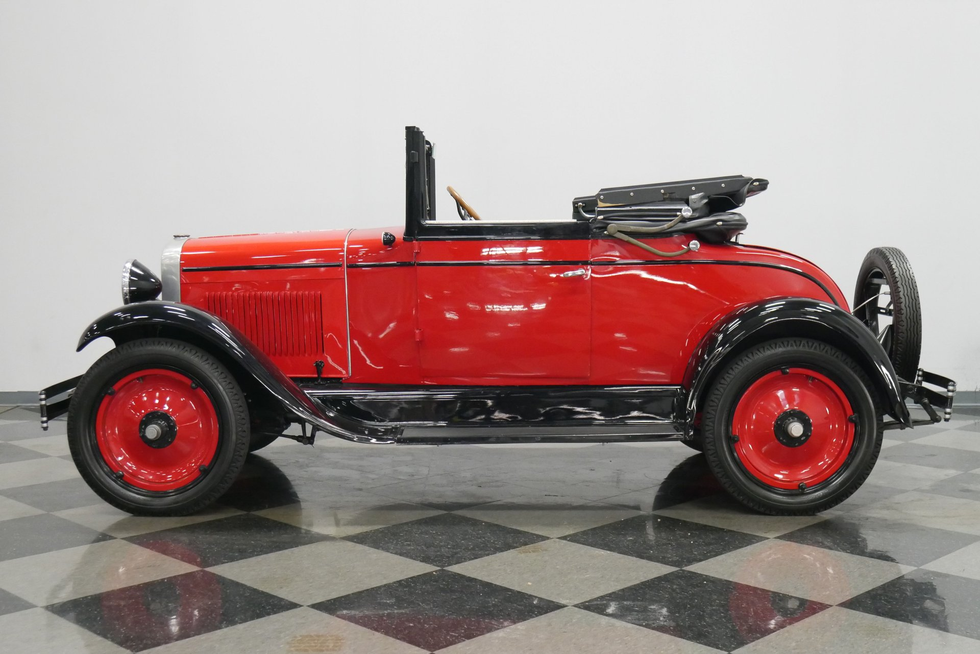 1928 chevrolet series ab sport cabriolet