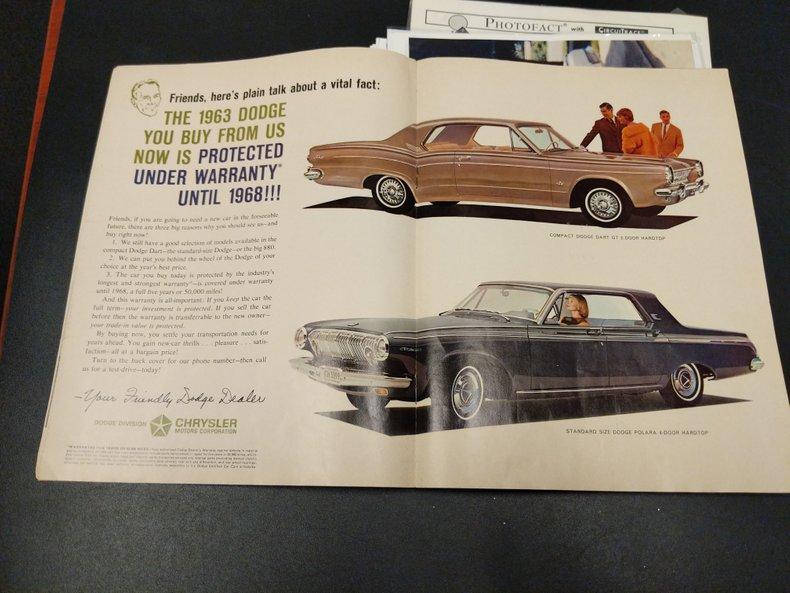 1963 Dodge Polara 63