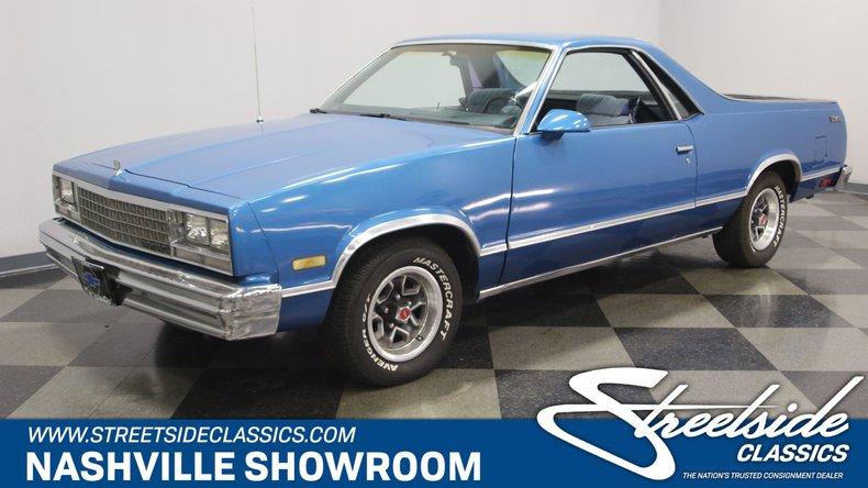 1986 Chevrolet El Camino For Sale