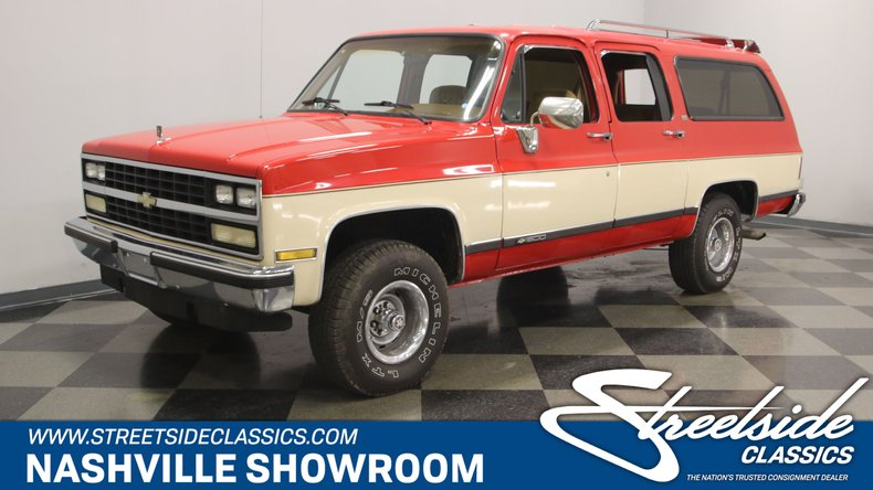 For Sale: 1989 Chevrolet Suburban