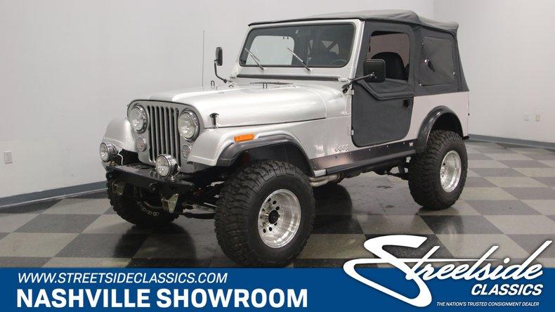 For Sale: 1983 Jeep CJ7