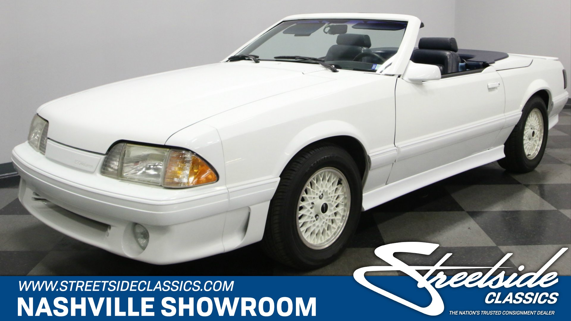 1987 ford mustang asc mclaren for sale 64072 motorious