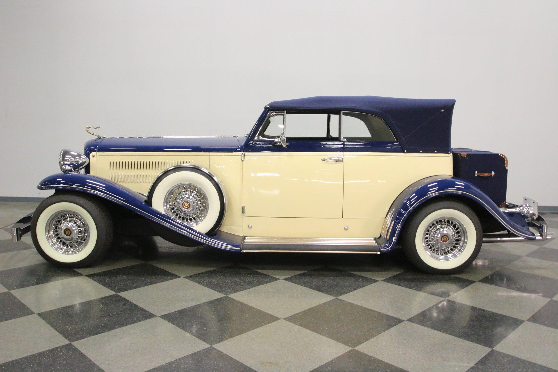 1931 cadillac replica