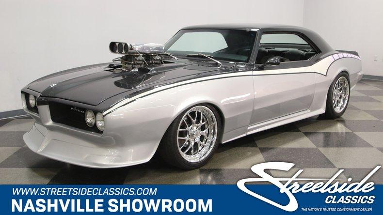 For Sale: 1968 Pontiac Firebird