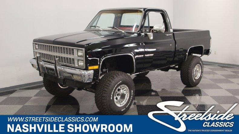 1982 Chevrolet K-10 For Sale