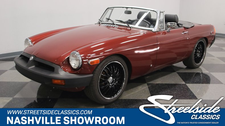 For Sale: 1979 MG MGB