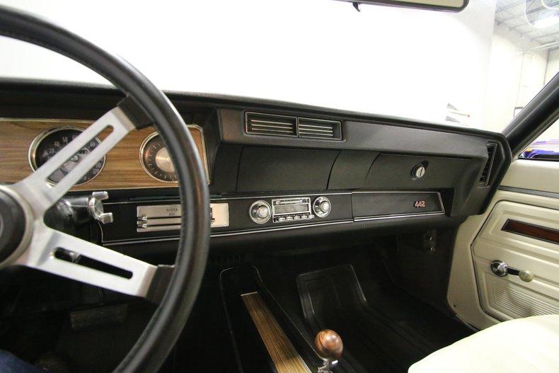 1972 Oldsmobile 442 34