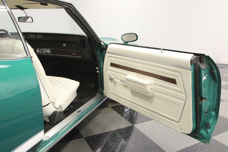 1972 Oldsmobile 442 43