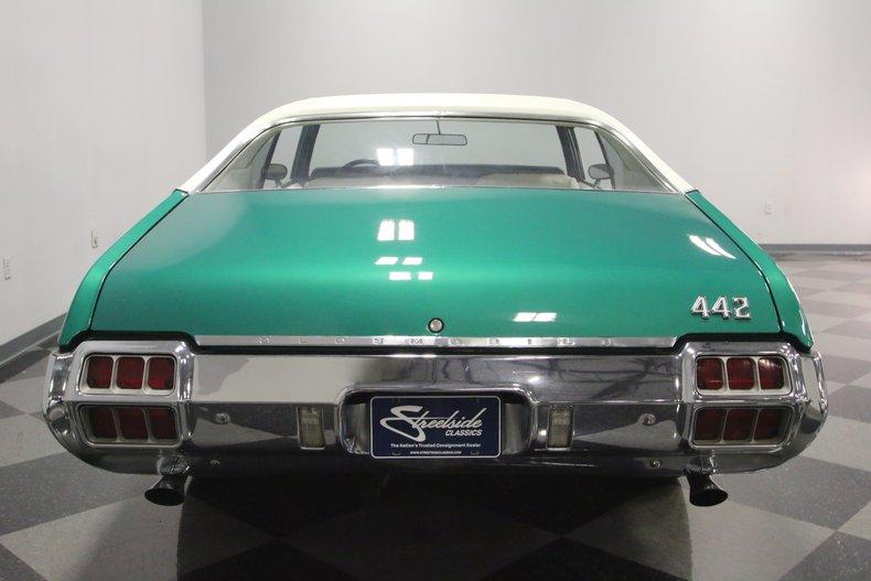 1972 Oldsmobile 442 11