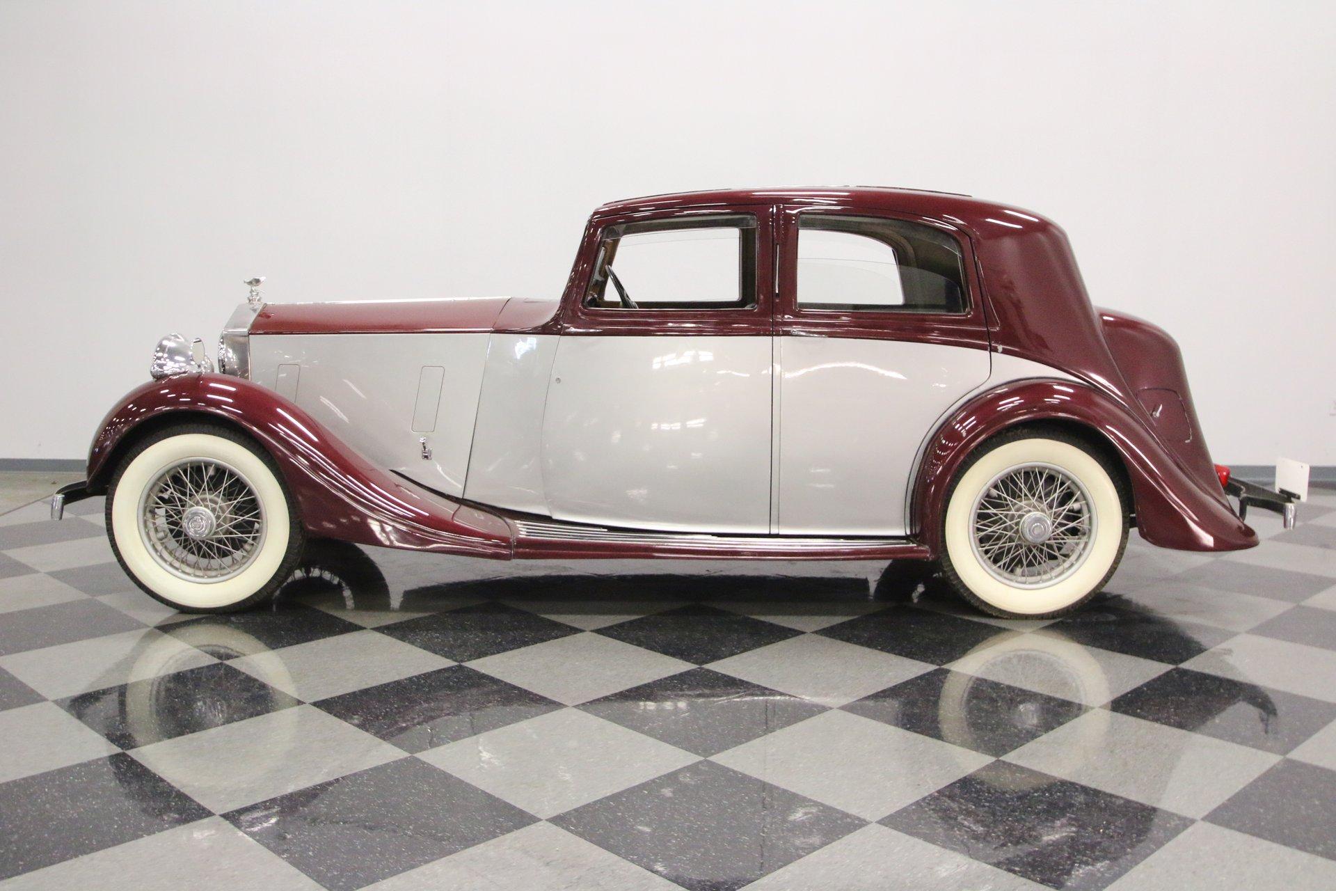 1938 rolls royce 25 30