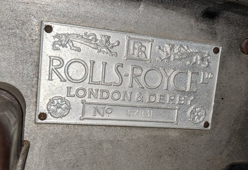 1938 Rolls-Royce 25/30 43