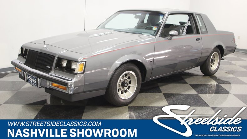 Buick Regal T Type >> 1987 Buick Regal Streetside Classics The Nation S