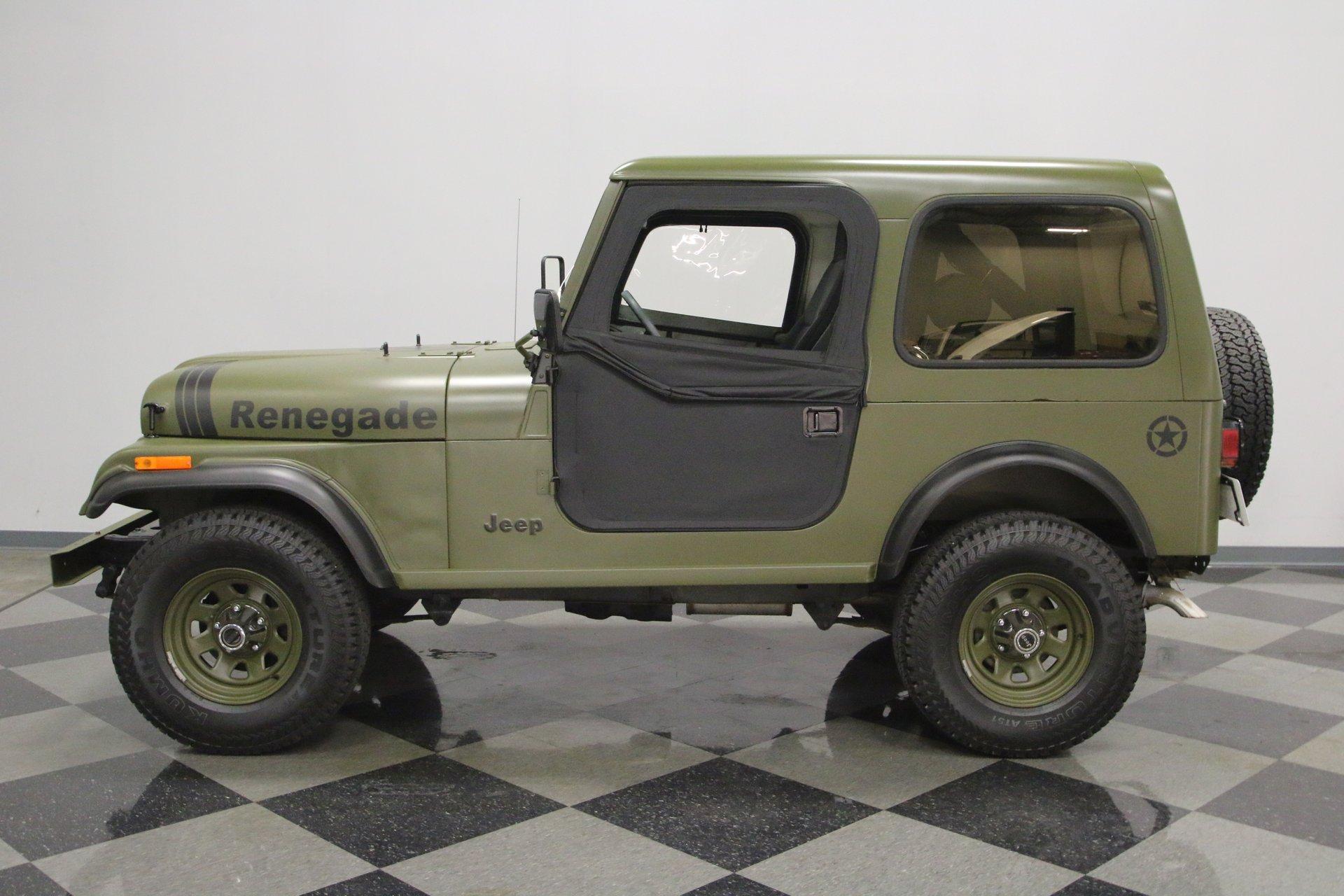 1982 jeep cj7 renegade