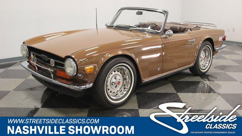 For Sale: 1973 Triumph TR-6