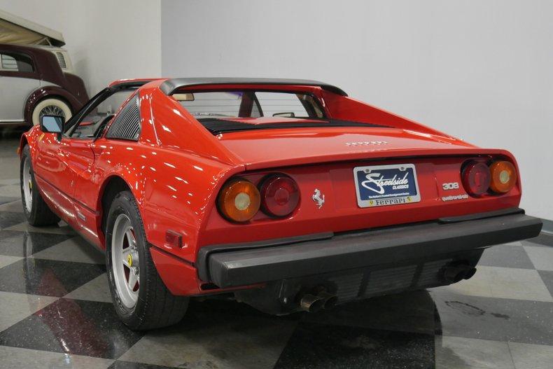 1984 Ferrari 308 GTS 9