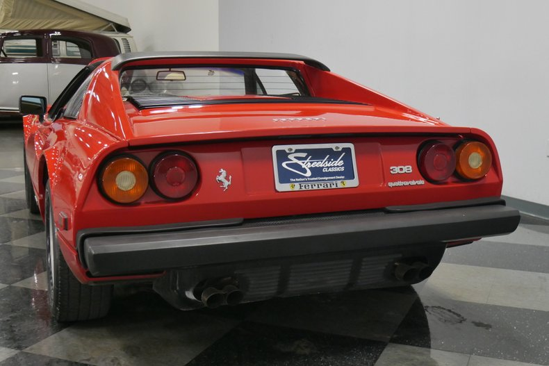 1984 Ferrari 308 GTS 10