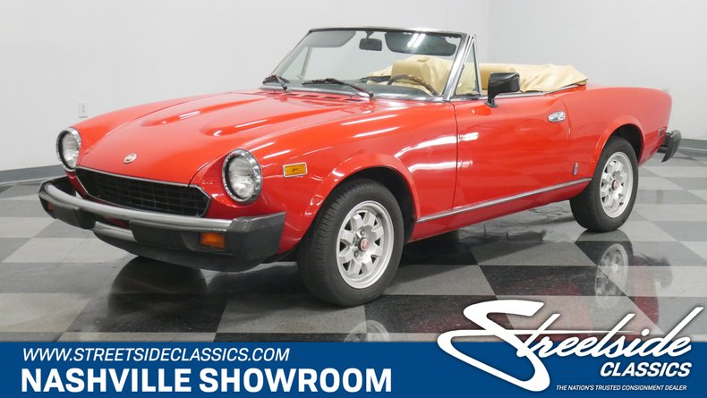 1982 Fiat Spider 2000 For Sale