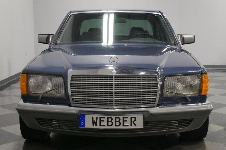 1983 Mercedes-Benz 500 SEL 19