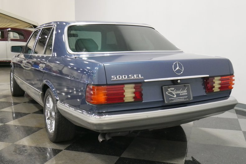 1983 Mercedes-Benz 500 SEL 9