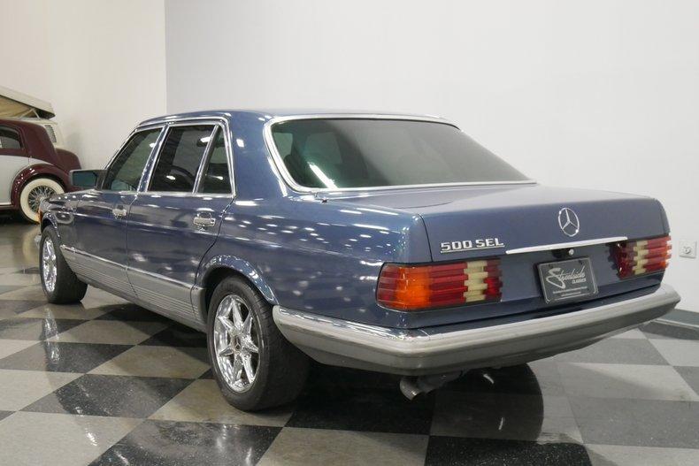 1983 Mercedes-Benz 500 SEL 8