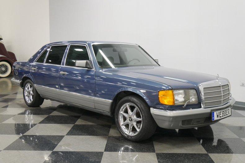 1983 Mercedes-Benz 500 SEL 16