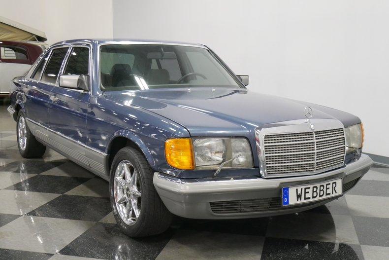 1983 Mercedes-Benz 500 SEL 17