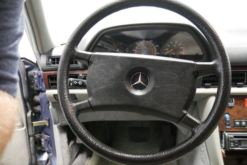 1983 Mercedes-Benz 500 SEL 29