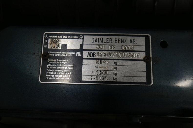1983 Mercedes-Benz 500 SEL 56