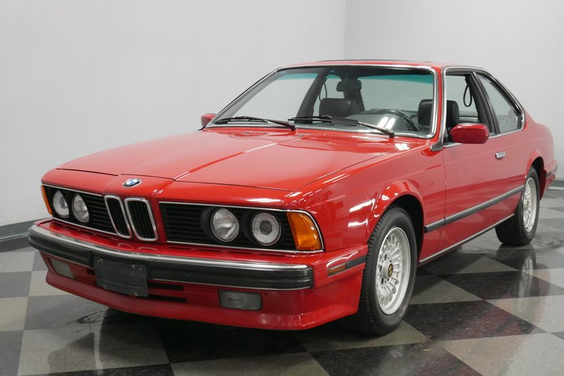 1989 BMW 635csi 20