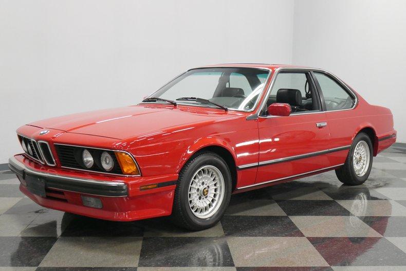1989 BMW 635csi 5