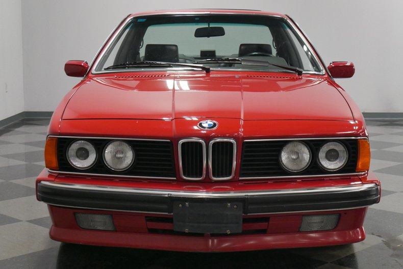 1989 BMW 635csi 19