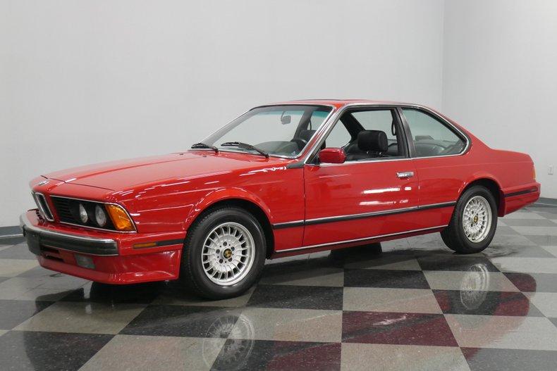 1989 BMW 635csi 6