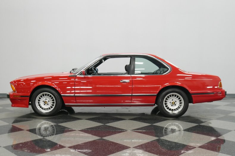 1989 BMW 635csi 7