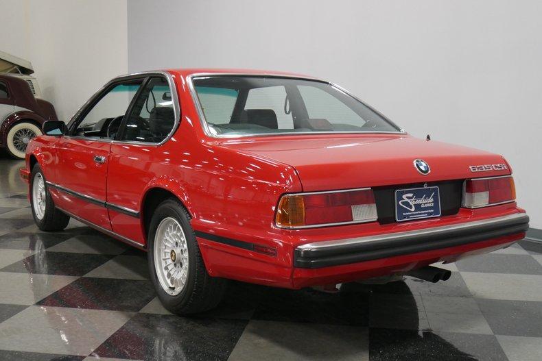 1989 BMW 635csi 9
