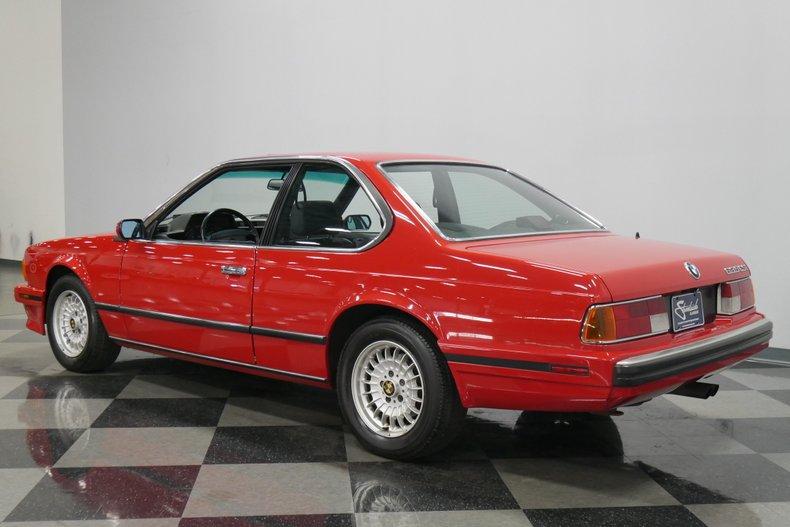 1989 BMW 635csi 8