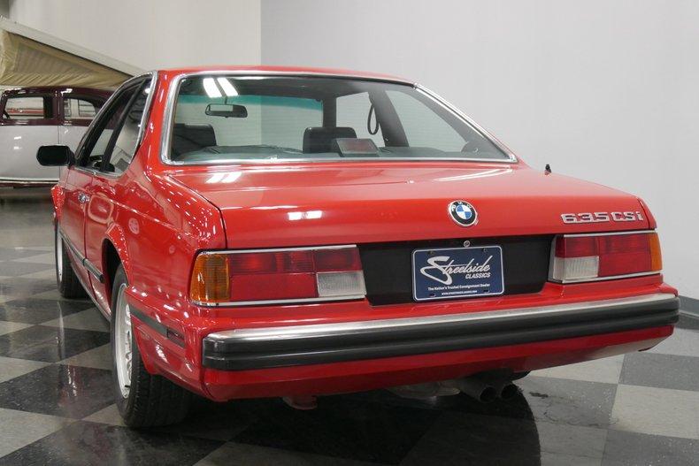 1989 BMW 635csi 10