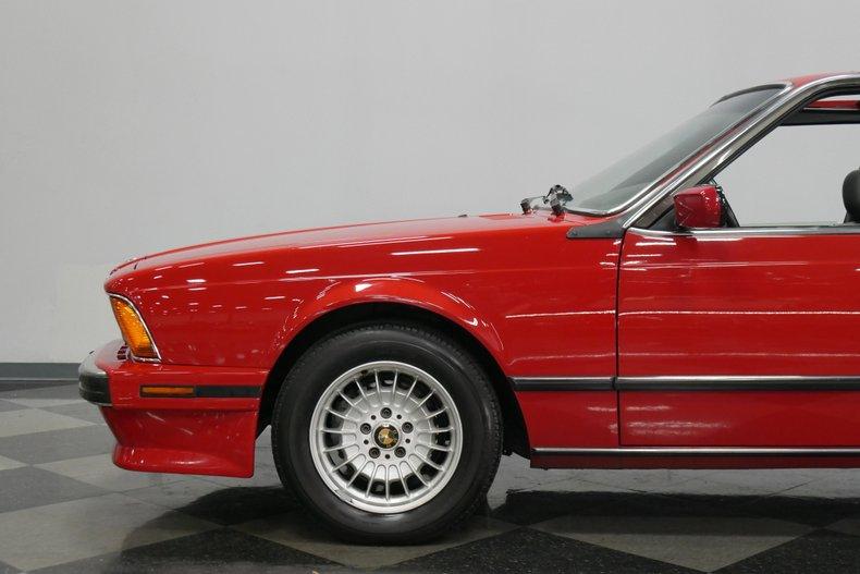 1989 BMW 635csi 21